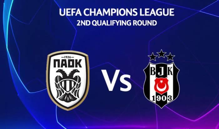 Soi kèo nhà cái PAOK Saloniki vs Besiktas– Sơ loại Champions League - 26/08/2020